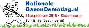 beeldmerk gazon demodag aftiteling